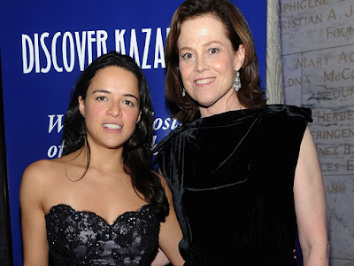 Michelle Rodriguez y Sigourney Weaver protagonizarán 'Tomboy, A revenger's tale'