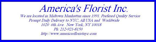 Americas Florist New York, NY