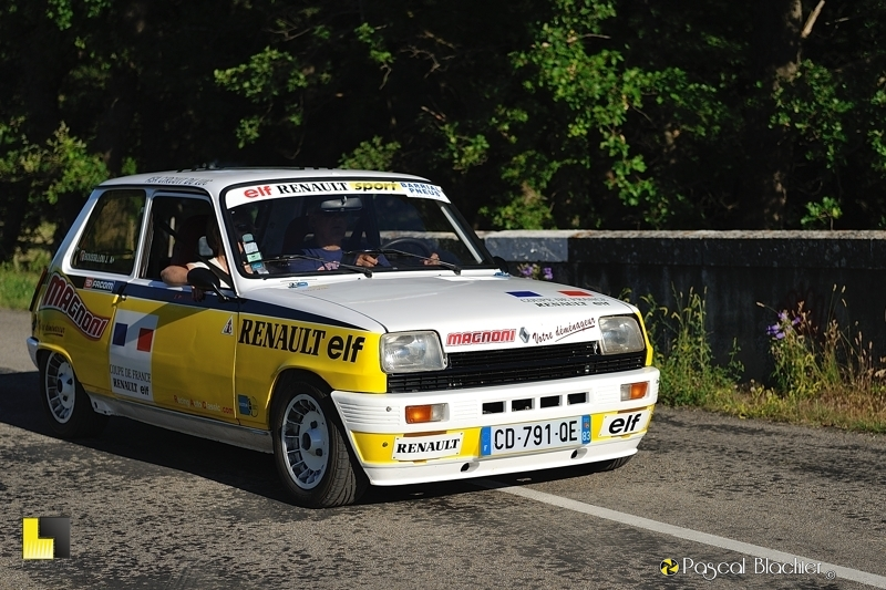 Renault 5 alpine photo pascal blachier