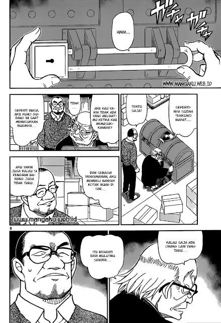 Detective Conan Chapter 844 Bahasa Indonesia - Detective Conan Chapter 844 Bahasa Indonesia