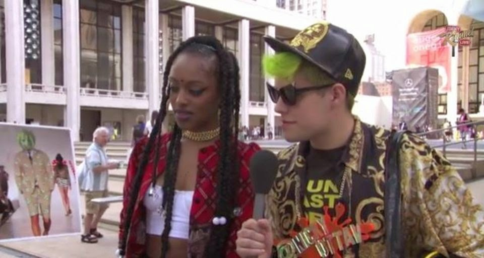 Jimmy Kimmel Pranks Fashion Week Attendees into Talking About Non-Existent
