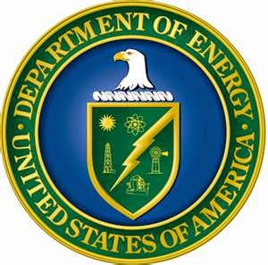 The Department of Energy emblem (Credit: Department of Energy) Click to enlarge.