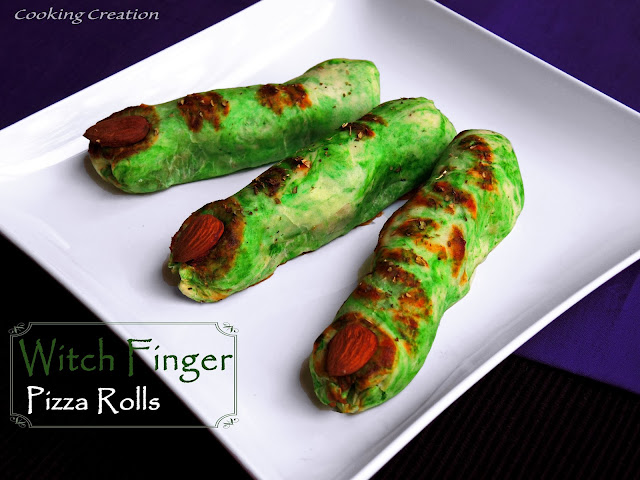 Witch FInger Pizza Rolls