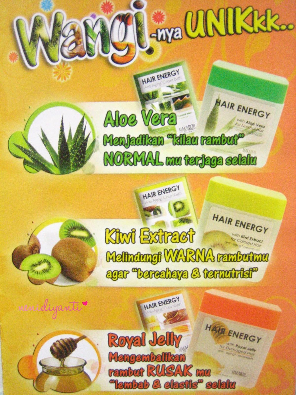 Kawaii Fuku MAKARIZO Hair Energy With Kiwi Extract