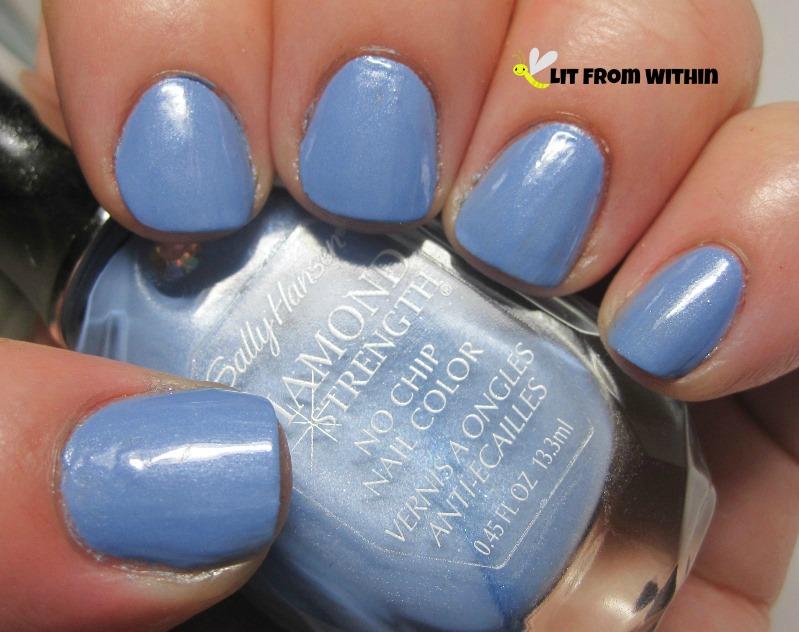 Sally Hansen Diamond Guess Blue?