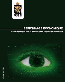 Espionnage economique en Belgique en 2012
