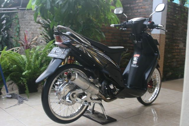 Modifikasi Yamaha Mio 2012 Reviewed by Siti Sarboah on Kamis, 27  title=