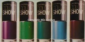 lacas de uñas Maybelline  revista mia mayo 2014