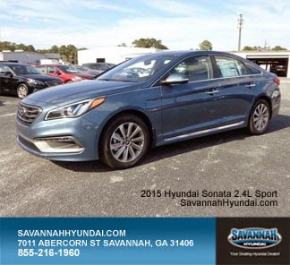 2015 Hyundai Sonata Sport, Savannah GA, New Car Specials, SC Hyundai Dealerships