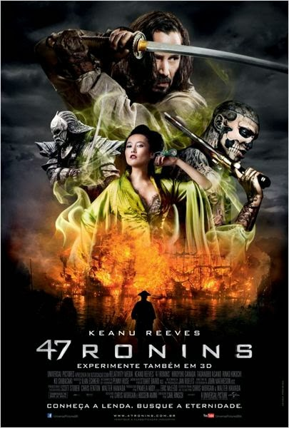 "Poster do filme ""47 Ronins"""