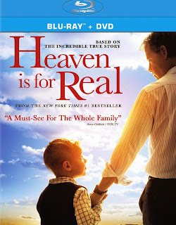 Heaven is for Real DVD and Blu-Ray Cover