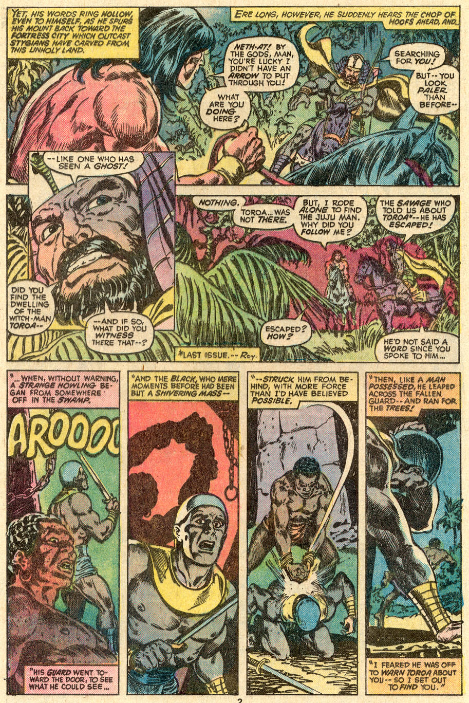 Conan the Barbarian (1970) Issue #83 #95 - English 3