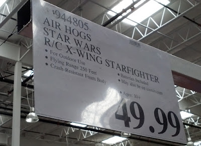 Deal for the Star Wars Remote Control X-wing Starfighter at Costco