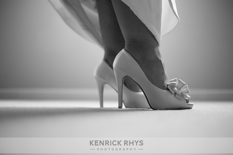 Bride Shoes Black & White
