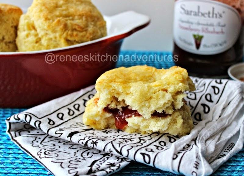 Easy Peasy Buttermilk Biscuits by Renee's Kitchen Adventures