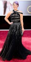 Кели Озбърн на Оскари 2013 в черна рокля с камъни