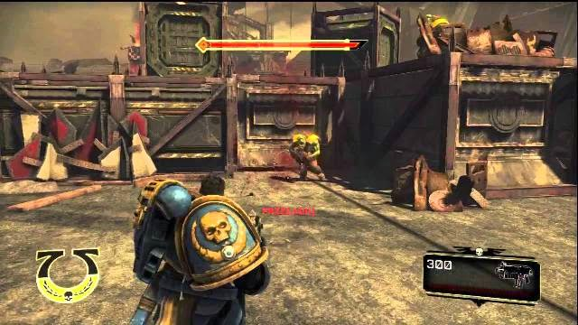 Warhammer 40k Space Marine PC Games Gameplay