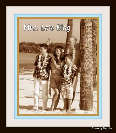 Mrs. Lo's Blog