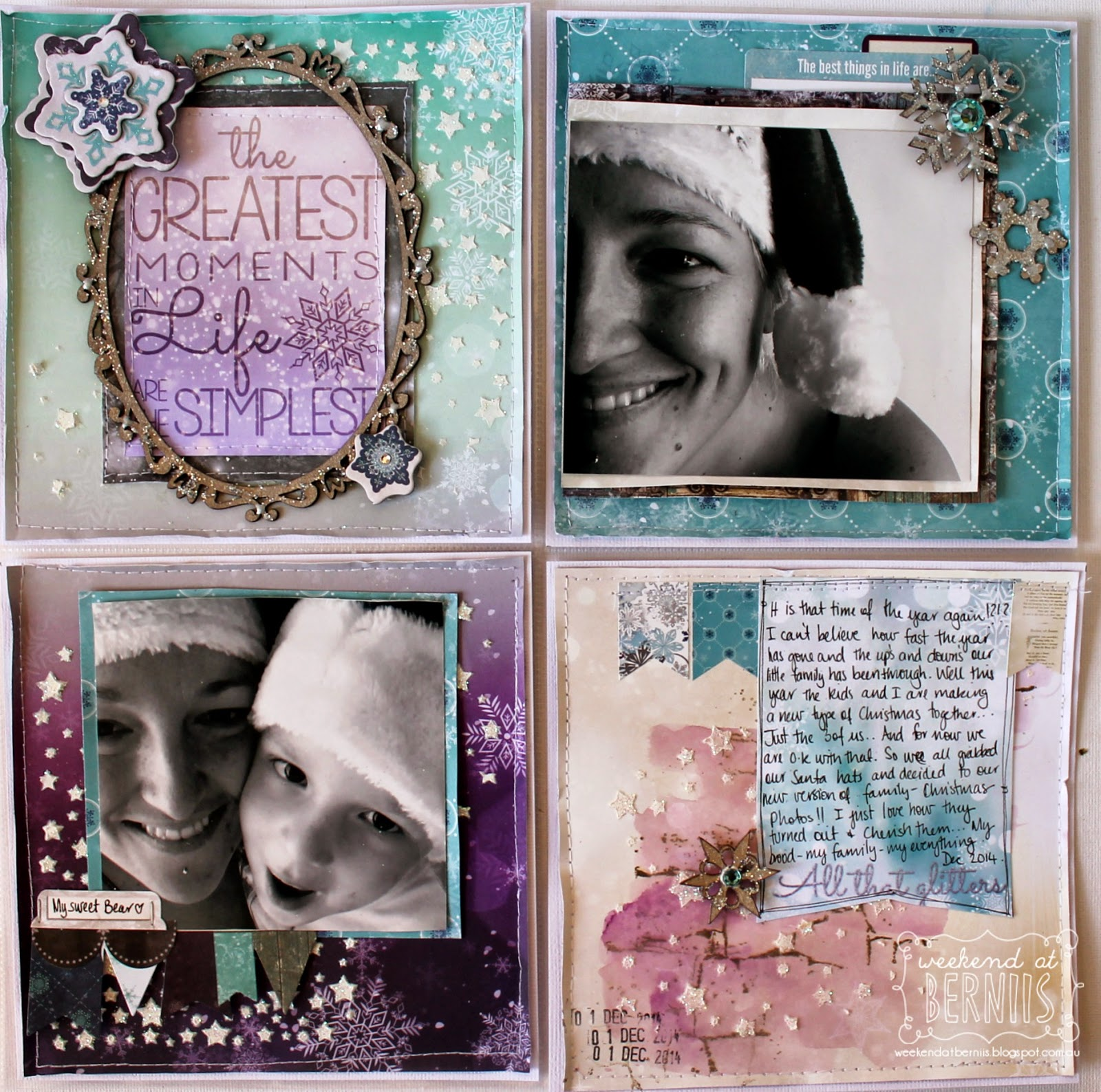 I love adventure layout by Bernii Miller for BoBunny using the Altitude collection. 2.