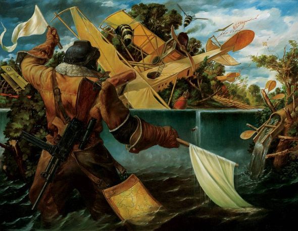Viktor Safonkin pinturas surreais sombrias medievais mitológicas religião subconsciente Sonhos hídricos