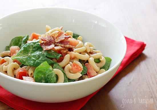 BLT Macaroni Salad | Skinnytaste