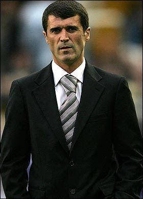 Roy Keane - great football player but has found it difficult to pass his considerable know-how on to others