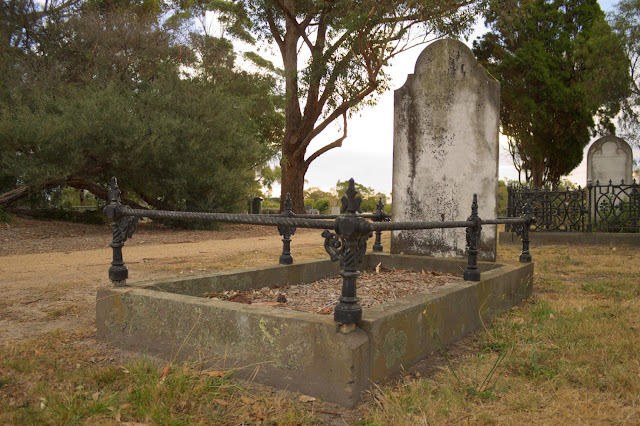 Image of an old grave - cemetery photography