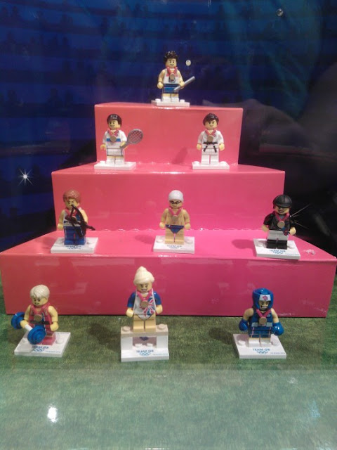 Team GB Lego Minifigures