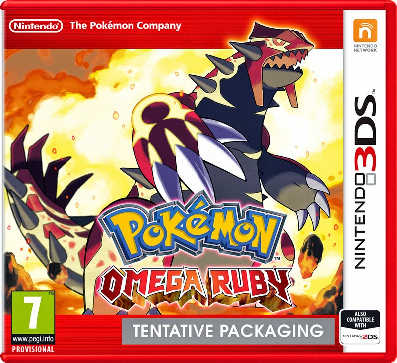 Pokemon Omega Ruby Nintendo 3DS Announced