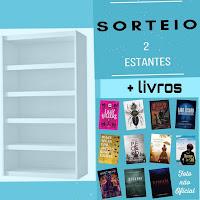 Sorteio de 2 estantes + 11 livros