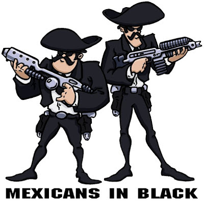 NOPAL Art: Mexicans In Black