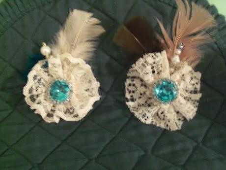 Vintage Jewelry Flowers 1