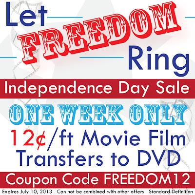 12¢ Movie Film Transfers to DVD