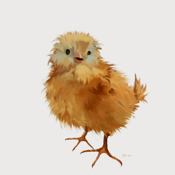 Chick painting by Bamalam Art and Photography