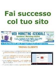 Fai Successo col tuo Sito (Web marketing per imprenditori e professionisti) - eBook