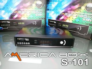 Atualizacao do receptor Americabox S-101 HD V1.82