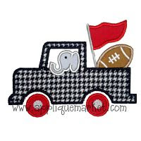 Elephant Truck (bought this against my better judgement! ha! ) War Eagle!