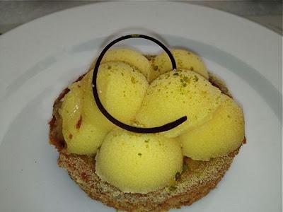 Tartaleta pastelería Mallorca. Salmón. Restaurante Casa Decor 2013. Blog Esteban Capdevila