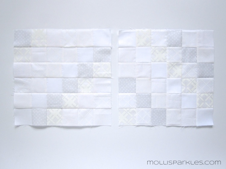 The Quilt That Never Was – Molli Sparkles : white tone on tone quilt fabric - Adamdwight.com