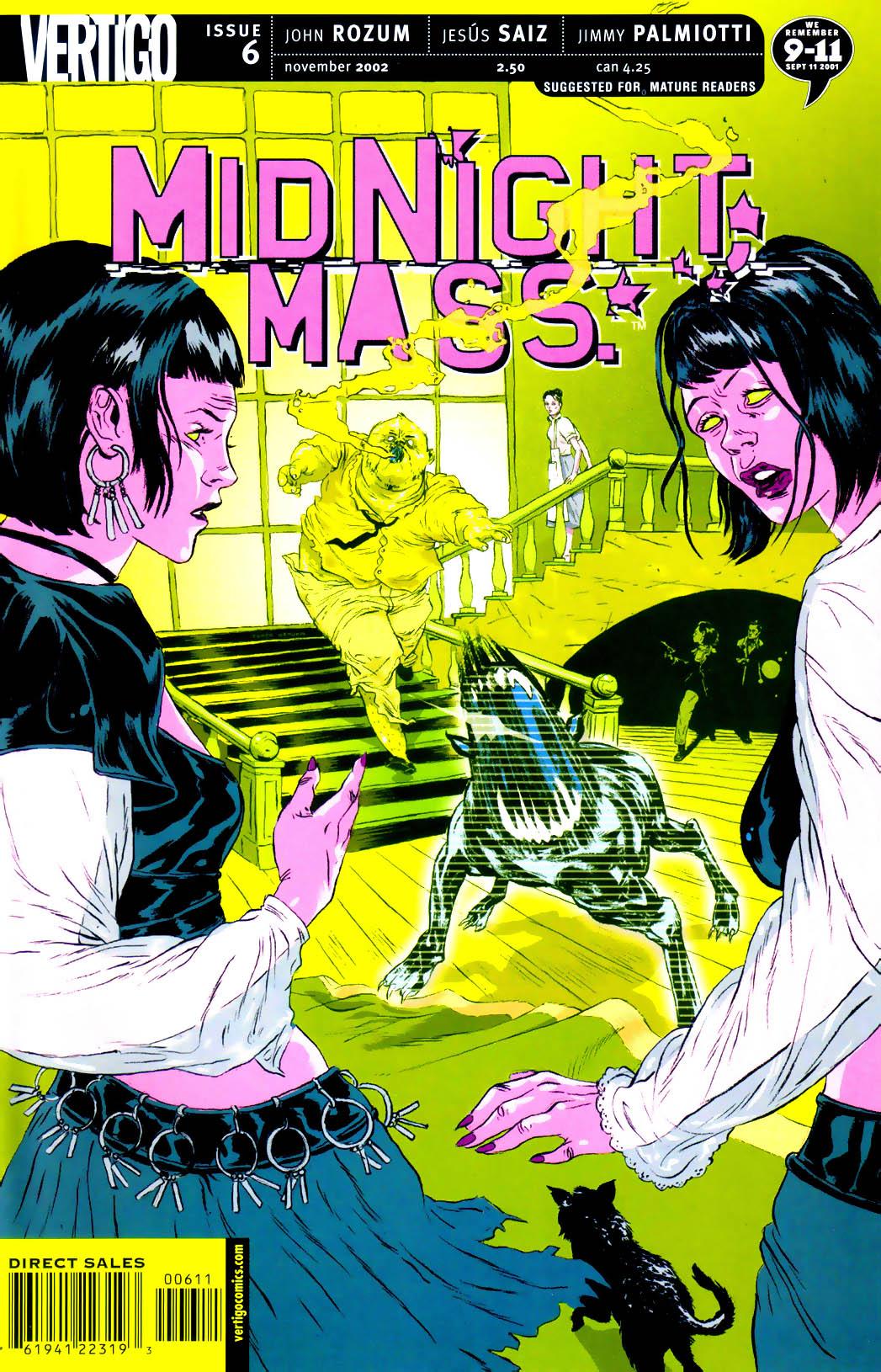 Midnight, Mass issue 6 - Page 1
