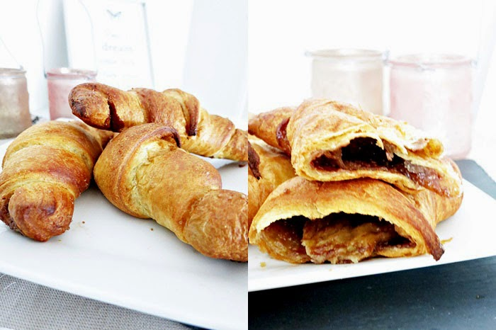 Choco Coffee Croissants