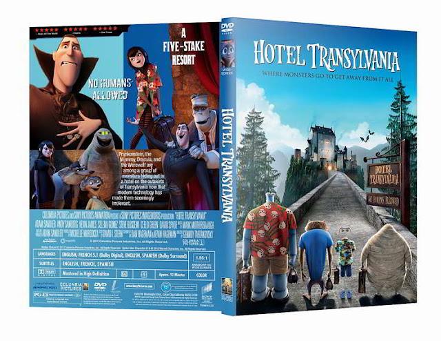 Hotel Transylvania DVDR NTSC Español Latino