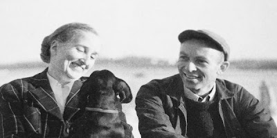 Katharine & E.B. White and Minnie