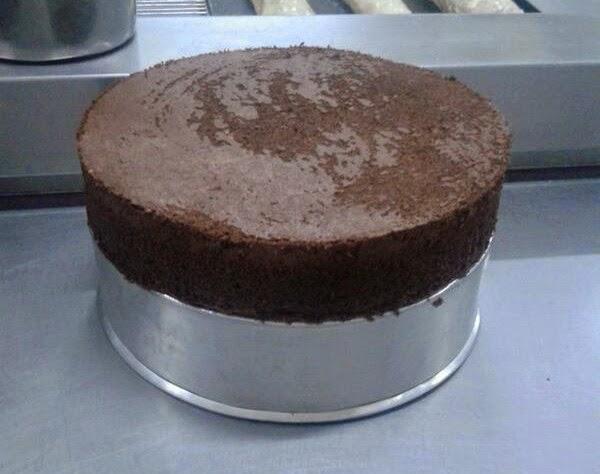 Sponge Cake Panggang Oven