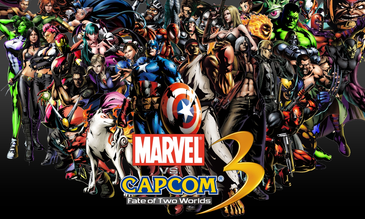 Marvel vs capcom 3 lutadores inusitados