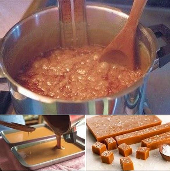 receita fácil Como fazer Caramelo em casa