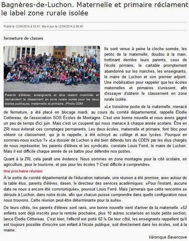 http://www.ladepeche.fr/article/2014/04/12/1862066-bagneres-luchon-maternelle-primaire-reclament-label-zone-rurale-isolee.html