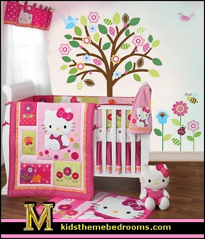 hello kitty baby nursery decor | Dreams House Furniture