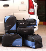Paytm : Buy Urban style set of 6 travel bags at Flat 70% cashback at Rs300:buytoearn
