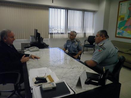 Encontro propiciou apoiodo TJAM em Cursos de Polícia Judiciária e Especialização em Direito Militar